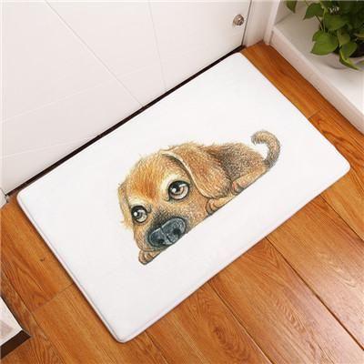 Cute Cartoon Style Modern Lovely Animal Print Bath mat or floor Anti-slip