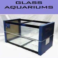 "Deep Blue 90-Gallon 48""Lx18""Wx24""H Glass Fish Tank"
