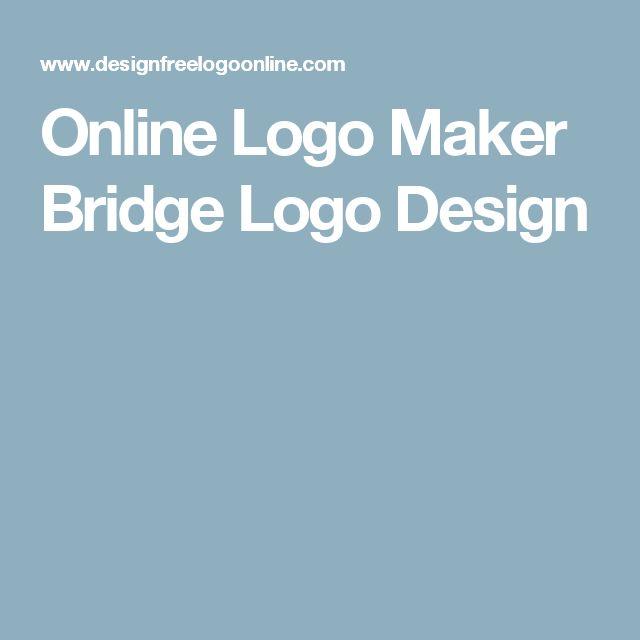 Online Logo Maker Bridge Logo Design