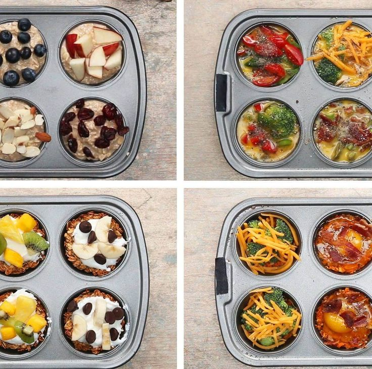 4 υπέροχες ιδέες για μάφινς πρωινού με: αβγά ή βρόμη ή γλυκοπατάτα ή μπανάνα! Έτοιμα... τώρα! - Shape.gr