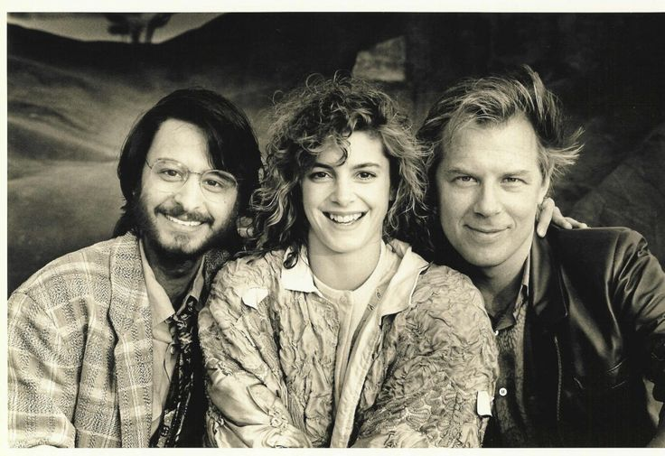 Fisher Stevens, Cynthia Gibb, and Michael McKean, stars of the 1988 comedy sequel, Short Circuit 2.