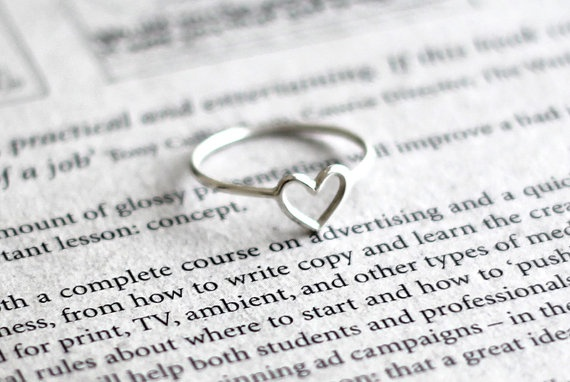 <3 zomg: Heart 18K, Sweet, Wire Heart, Gold Plates, Heart Rings, Names Rings, Sterling Silver, Silver Rings, 18K Gold