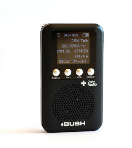 BUSH POCKET Personal DAB+ with speaker
