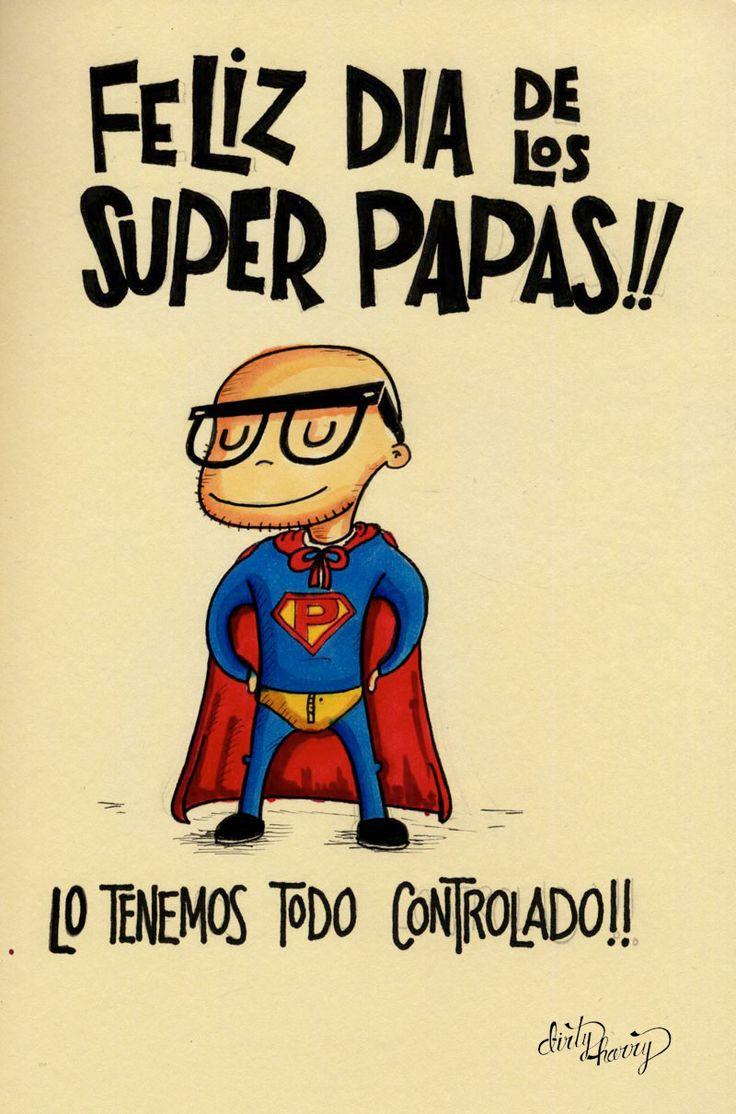 Feliz día de los superpapás!! Lo tenemos todo controlado!! - www.dirtyharry.es