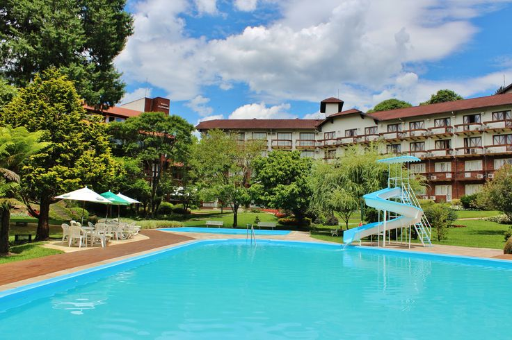 Estrutura de Verão do Hotel Alpestre em Gramado - Verão 2015