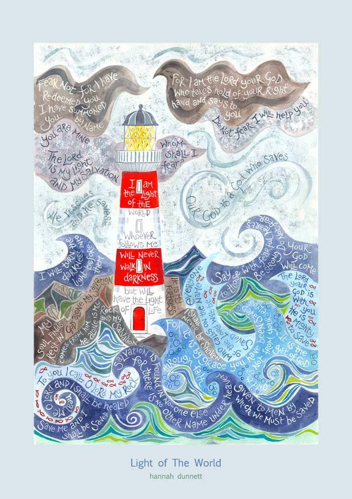 Hannah Dunnett Light of the world poster