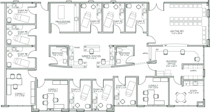 MAKENA MEDICAL CENTER - suite designs for 1, 2, more providers