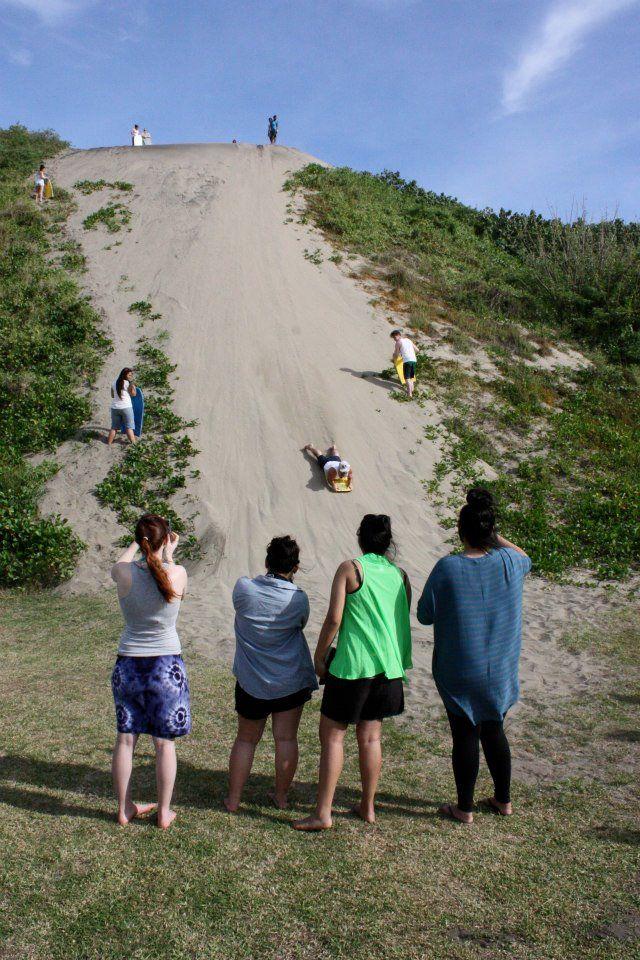 Sand boarding @ Sigatoka