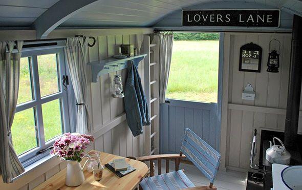 Peek Inside This Cheerful English Shepherd's Hut - Canopy & Stars Vacation Homes