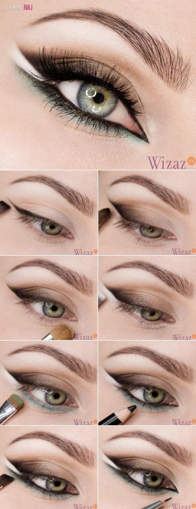 Belle maquillage ♥ #maquillage #yeux #personnes http://amzn.to/2sNPLmB