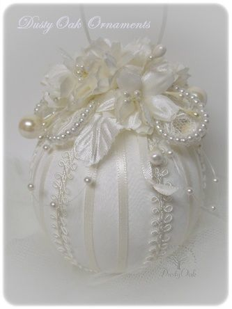 Custom wedding keepsake made from the bridal gown