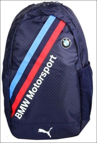 New Puma BMW Motorsport Backpack Blue