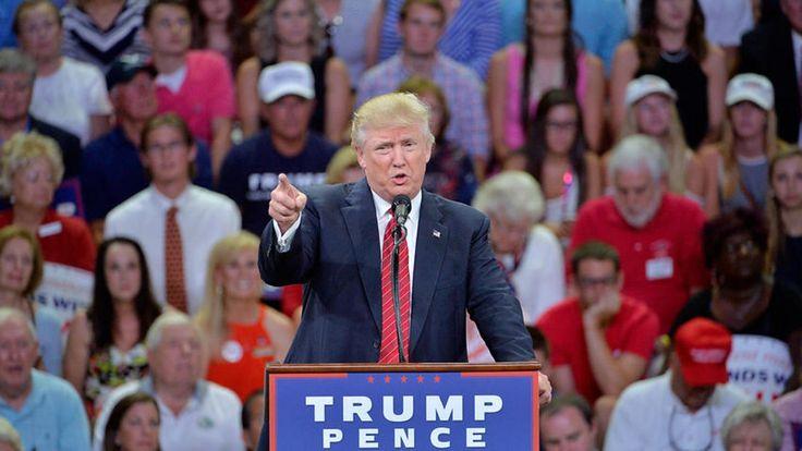 Donald Trump sugiere que defensores de armas pueden detener a Hillary Clinton