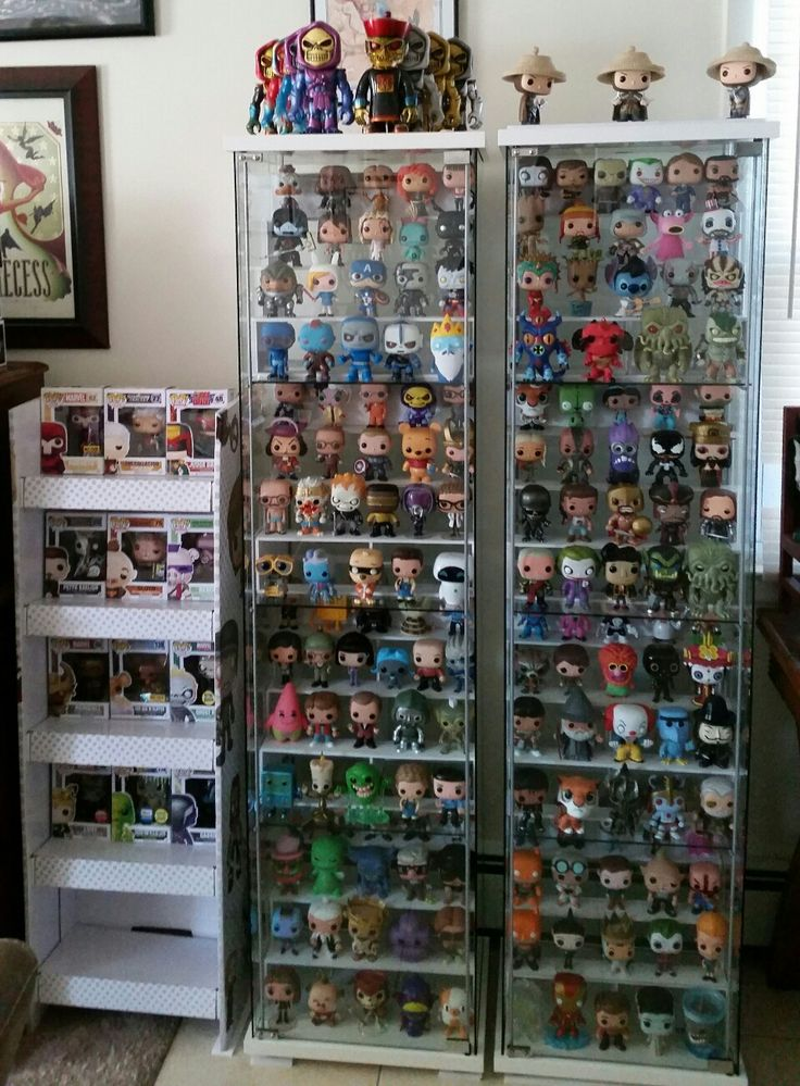 Inexpensive Risers For Your Detolf Pop Display Funko