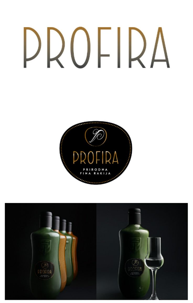 Premium Serbian brandy.. http://www.cobaassociates.com/portfolio/profira-brandy.htm
