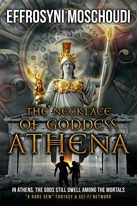 The cover of the 2nd edition of The Necklace of Goddess Athena. Kindle out on Amazon in September 2015!