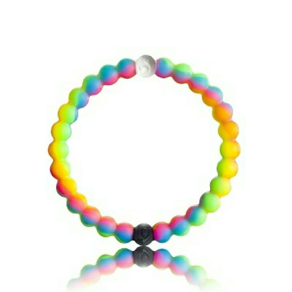 Available!!!!  *New Lokai Neon Bracelet* New Color Lokai Neon Bracelet For Make A Wish Foundation. Comes To You In A Pretty Black Velvet Pouch. Small And Medium Will Be Available. Bundle And Save! Thank you!:) Lokai Jewelry Bracelets