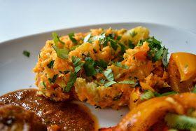 Süßkartoffelpüree mit Feta und Koriander nach Jamie Oliver