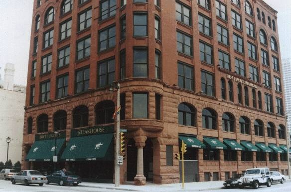 Brett Favre's Steakhouse - Milwaukee WI (Closed) - Had College Graduation Dinner there !