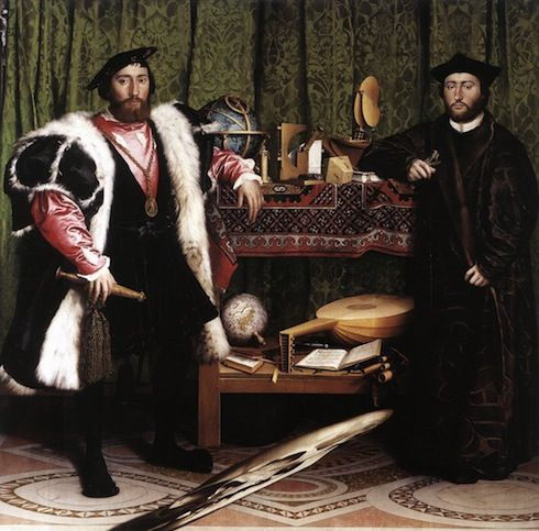 Les Ambassadeurs, Hans Holbein, 1533