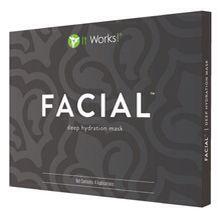 Le WRAP Visage Ne portez pas votre âge sur votre visage ! Resserrez, tonifiez et raffermissez pour lifter votre visage en 45 petites minutes. Ce masque imprégné de crème hydrate en profondeur, apaise la peau et adoucit visiblement les rides et ridules tout en hydratant en continu pour vous rendre plus belle !  Lien de commande du WRAP Visage:  http://magouneswrap.myitworks.com/fr/shop/product/UK103/