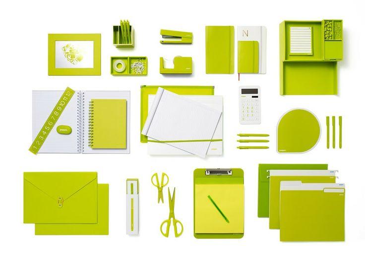 green office desk. lime green poppin products office designsoffice supplieslimestationeryorganizedeskaccessories desk e