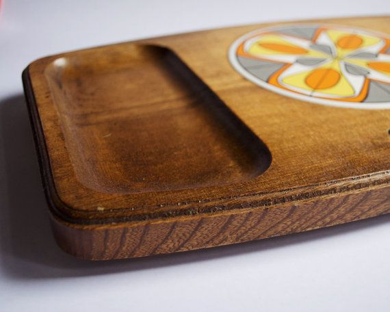 Mid Century Platter by SomethingKitsch on Etsy