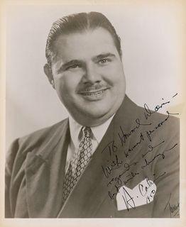"HENRY CALVIN - 1950 - ZORRO: HENRY CALVIN as ""Sergeant Garcia"""