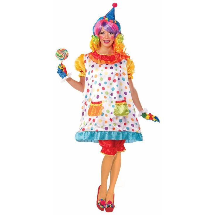 Wiggles the Clown Costume Halloween Fancy Dress #ForumNovelties