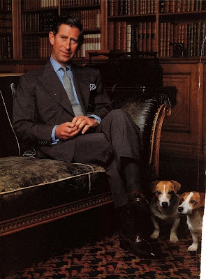 Prince Charles with Tigger and Pooh