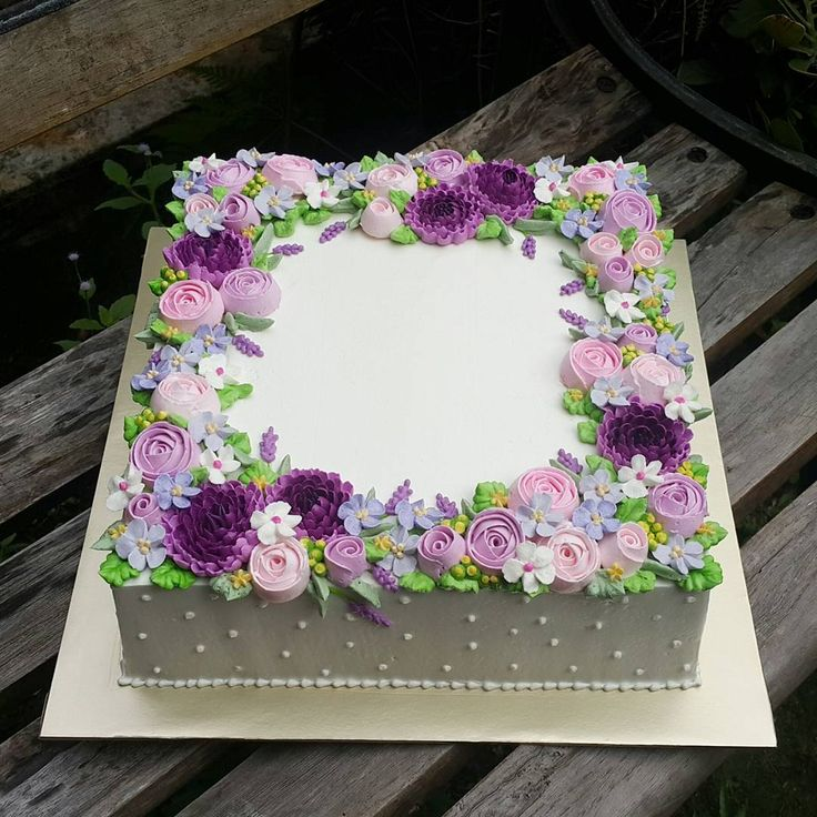 Best 25+ Square cakes ideas only on Pinterest Cake ...