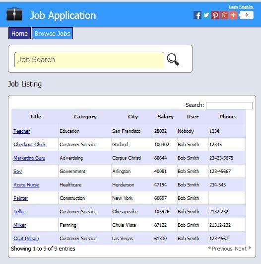 Job Template