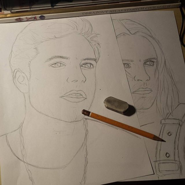 #mulpix I started to draw Seb & Bucky . ~ ..The 13th of August Sebastian Stan has Birthday .. . ~ I will make collage of my drawings of Seb ♡. ~ I will post the collage on his birthday :) with this drawings witch I started to draw ~ •What do you think? • ~ I really hope That he will see it 😕 ~ If anyone will making video for Sebastian... tell me !!! :) I can help or something like that 😆 ~ If you want .. you can give me shout out :)) I will be verry happy ! ~ .. I am so nervous.. why?…