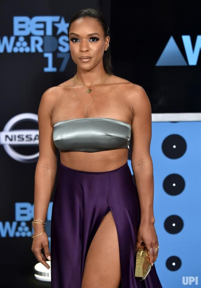 Actress Michelle Mitchenor attends the 17th annual BET ...