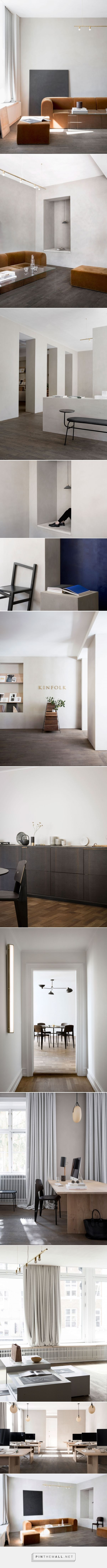 Kinfolk Magazine's Sublime Copenhagen HQ by Norm Architects. - created via https://pinthemall.net