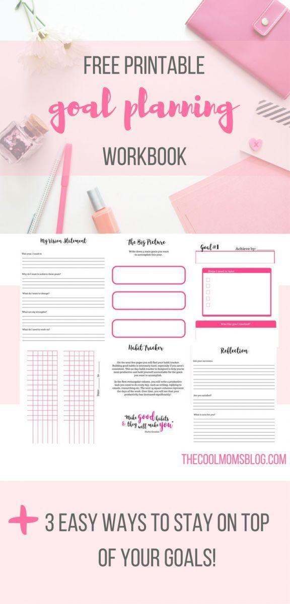 Free Printable 2017 Goal Planning Workbook
