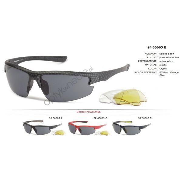#Sportowe:: #Okulary przeciwsłoneczne z polaryzacją #Solano ss 60003 C