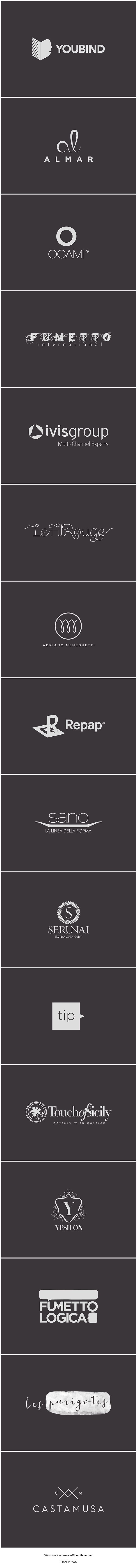 Logo Overview by Officemilano
