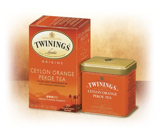 Ceylon Orange Pekoe black from Twinings is from the Dimbula region of Sri Lanka.  The name Ceylon is a holdover from before independence.  It's mostly light on nose and taste but maybe a little too light.  You do get those subtle citrus hints along the way and the astringent finish of black tea.  The light nature would be appropriate for drinking any time of day but I'd generally want something more robust.  Pretty good but nothing I'd get again.