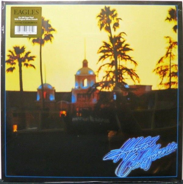 The Eagles Hotel California 180 Gram Newest Pressing Vinyl Lp