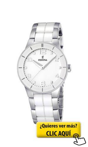 Festina Trend Ceramic F16531/1 - Reloj analógico... #reloj #mujer