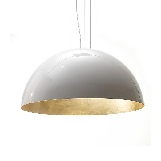 Lamp voor boven eettafel - Depot Rotterdam ook heel mooi in de zwarte variant.