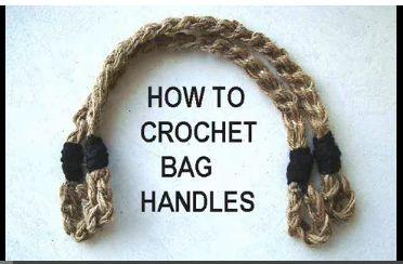 manijas de bolso a crochet