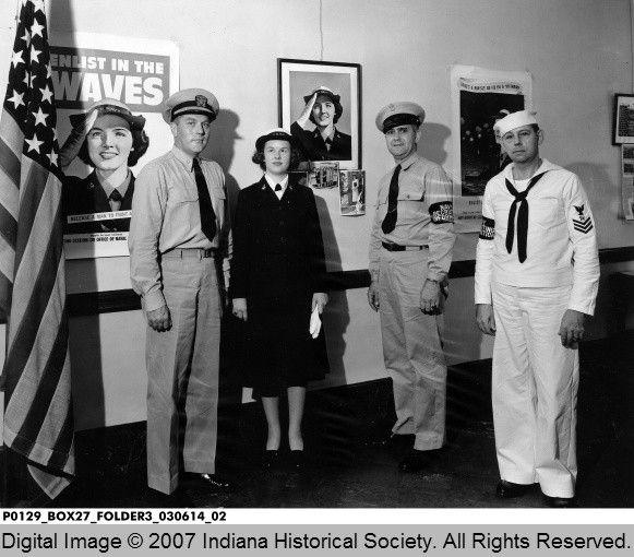 7/13/1943 same Navy Recruiting Office as YAT image