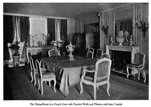 deepdale the dining room at wm k vanderbilt iis great neck estate was in. beautiful ideas. Home Design Ideas