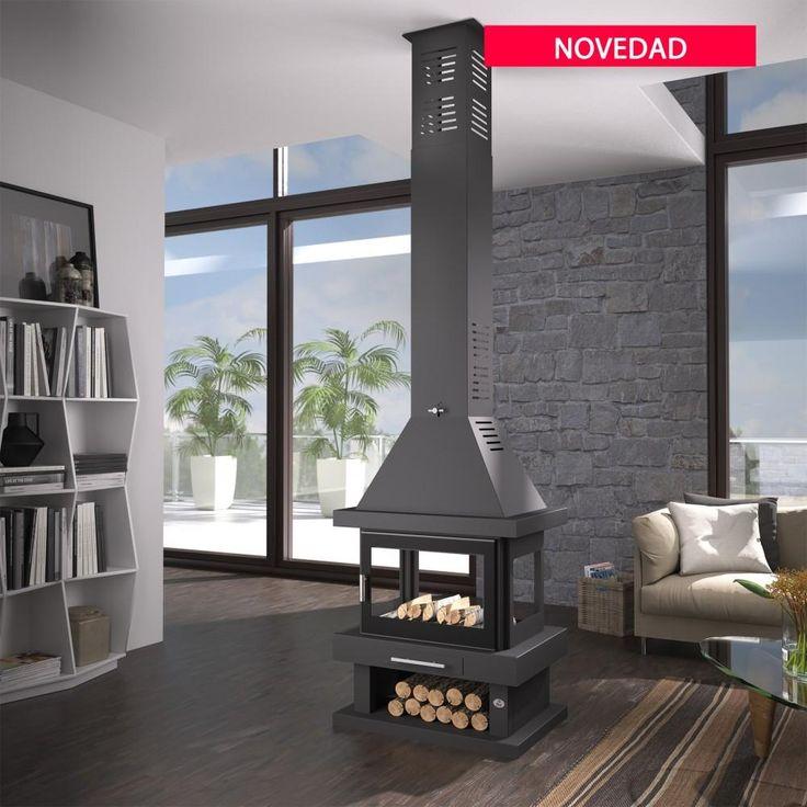 Las 25 mejores ideas sobre chimenea estufa de le a en - Decoracion para chimeneas de lena ...