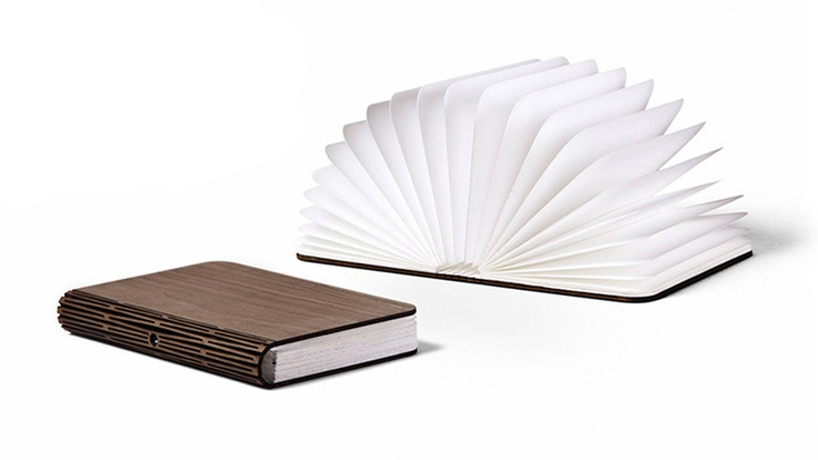 Lumio is a foldable lamp disguised as a book, providing a multi-purpose light source you can put in your bag.