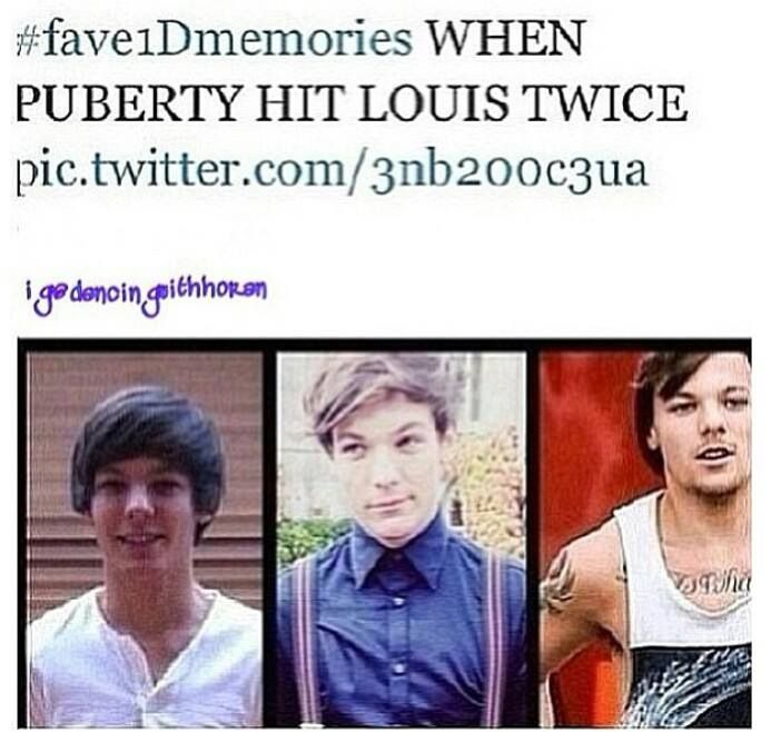 Louis will be one of those people who will age well and always be sexy