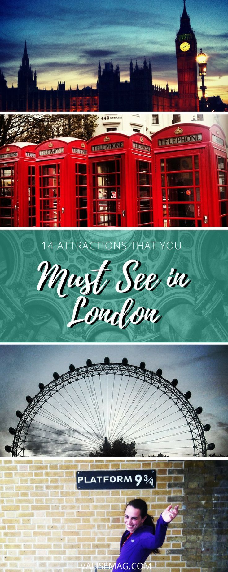 What better way to highlight the best attractions you must see when in London? Here are 14 unmissable sights in London – they're a true slice of life.