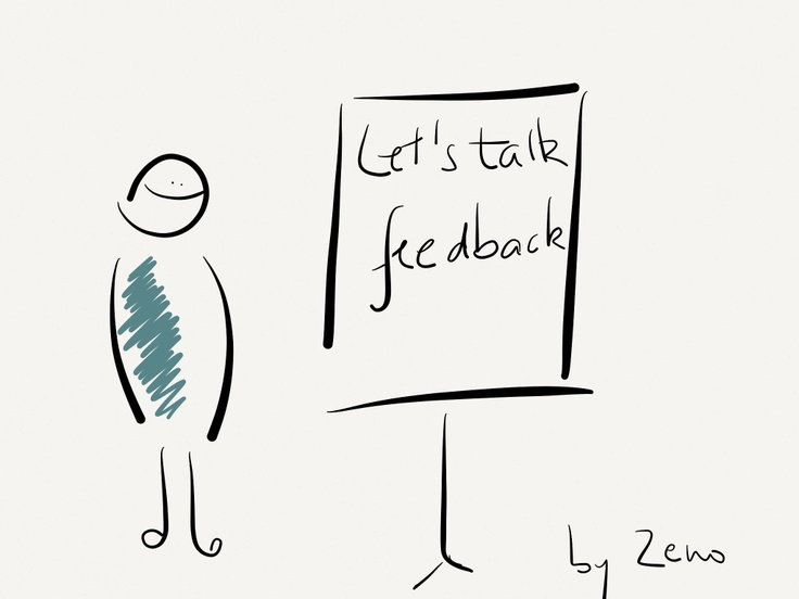 let's talk feedback